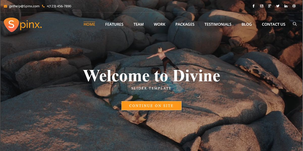 Yoga Premium Html Template – SpinX For Creating Beautiful Yoga Websites